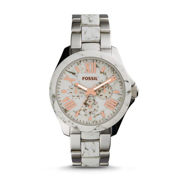 Cecile Multifunction Two-Tone Stainless Steel Watch