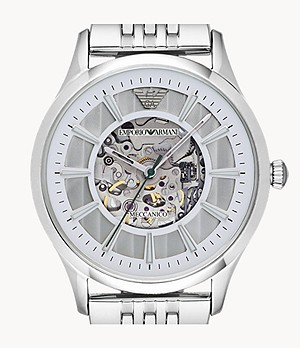 Emporio Armani Men's Automatic Stainless Steel Watch