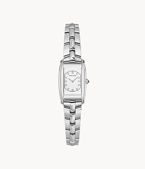 Emporio Armani Swiss Two-Hand Steel Watch