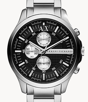 Armani Exchange Chronograph Stainless Steel Watch