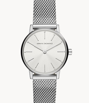 Armani Exchange Two-Hand Stainless Steel Watch