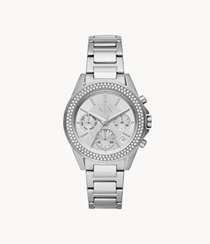 Armani Exchange Multifunction Stainless Steel Watch