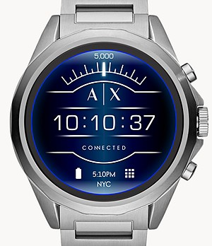 Armani Exchange Men's Stainless Steel Smartwatch
