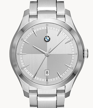 BMW Men's Three-Hand Steel Watch