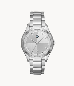 BMW Men's Three-Hand Stainless Steel Watch