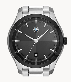 BMW Men's Three-Hand Date Stainless Steel Watch