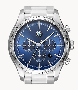 BMW Men's Chronograph Stainless Steel Watch