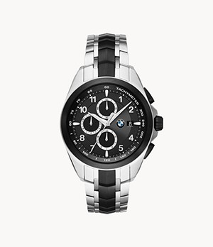 BMW Chronograph Two-Tone Steel Watch