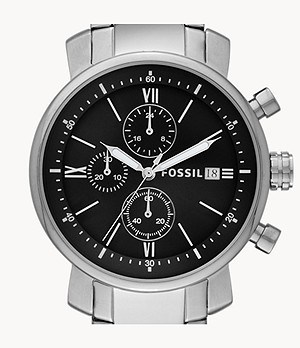 Rhett Chronograph Stainless Steel Watch