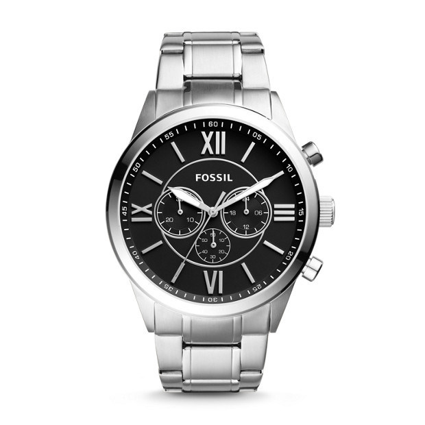 Fossil Men's Flynn Stainless Steel Chronograph Watch