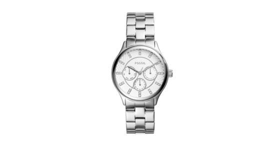 Modern Sophisticate Multifunction Stainless Steel Watch