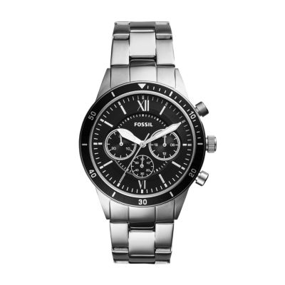 Flynn Sport Chronograph Silver Stainless Steel WatchFlynn Sport Chronograph Silver Stainless Steel Watch