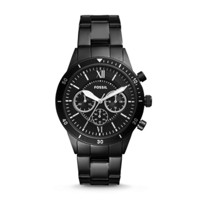 Fossil Flynn Sport Chronograph Black Stainless Steel Watch