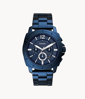 Privateer Sport Chronograph Ocean Blue Stainless Steel Watch
