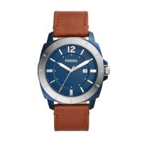 Deals on Fossil Privateer Sport Three-Hand Date Brown Leather Watch