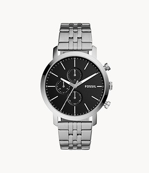 Luther Chronograph Stainless Steel Watch