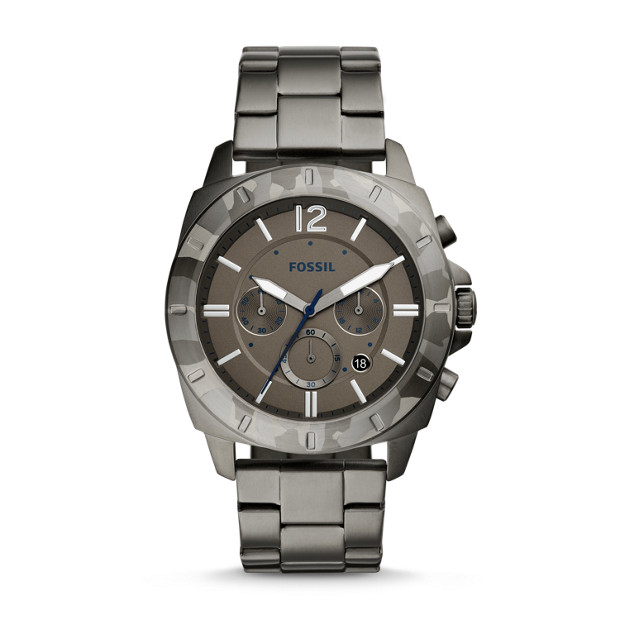 Fossil Privater Sport Chronograph Stainless Steel Watch