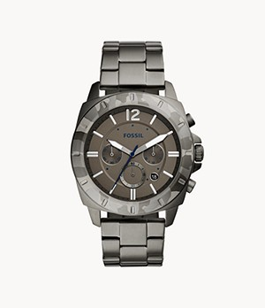 Privateer Sport Chronograph Smoke Stainless Steel Watch