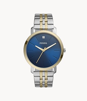 Lux Luther Three-Hand Two-Tone Stainless Steel Watch