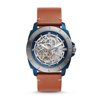 d7cfa41c4f8 Privateer Sport Mechanical Luggage Leather Watch