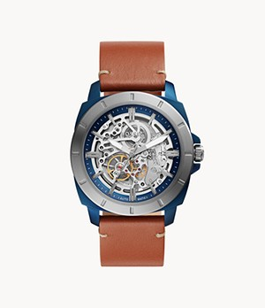 Privateer Sport Mechanical Luggage Leather Watch