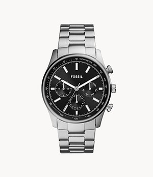 Sullivan Multifunction Stainless Steel Watch