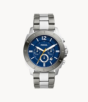 Montre chronographe Privateer Sport en acier inoxydable bicolore