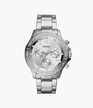 Bannon Multifunction Stainless Steel Watch