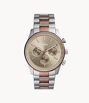 Sullivan Multifunction Copper-Tone Stainless Steel Watch