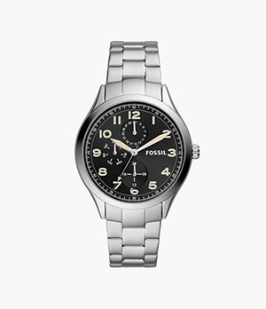 Wylie Multifunction Stainless Steel Watch