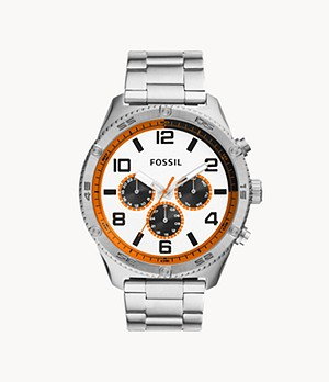Brox Multifunction Stainless Steel Watch