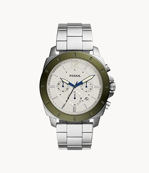 Privateer Sport Chronograph Stainless Steel Watch