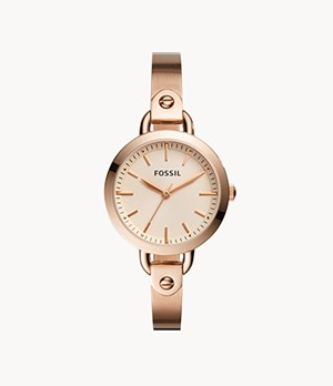 Classic Minute Three-Hand Rose-Gold-Tone Stainless Steel Watch