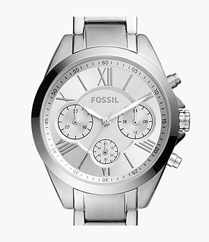 Modern Courier Midsize Chronograph Stainless Steel Watch
