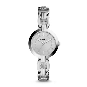 Fossil Kerrigan BQ3205 Three-Hand Stainless Steel Watch