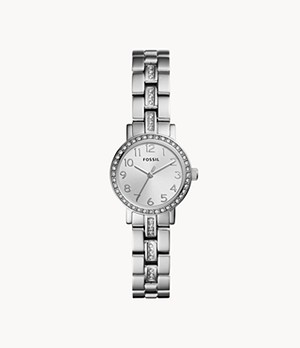 Shae Mini Three-Hand Stainless Steel Watch