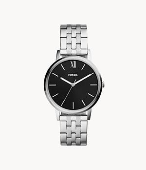 Cambry Three-Hand Stainless Steel Watch
