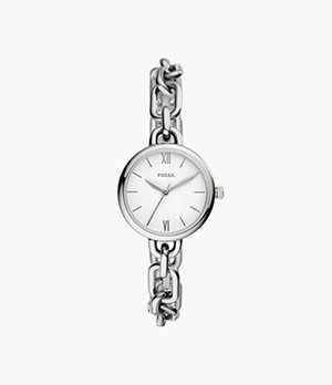 Embry Three-Hand Stainless Steel Watch