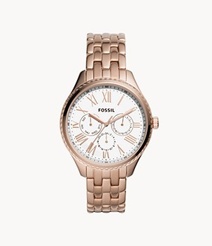 Redding Multifunction Rose Gold-Tone Stainless Steel Watch