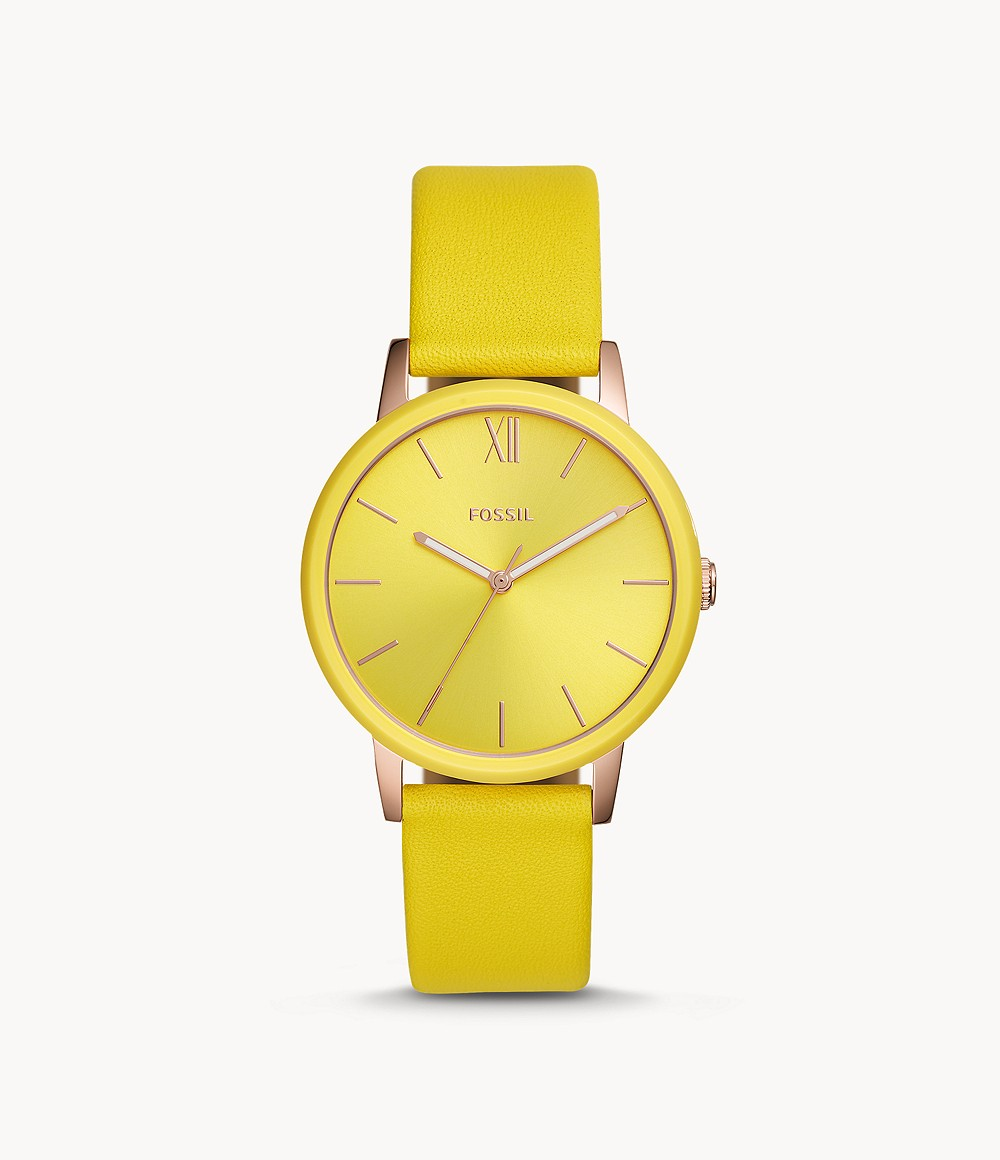 colored fossil watches