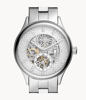 Modern Sophisticate Automatic Stainless Steel Watch