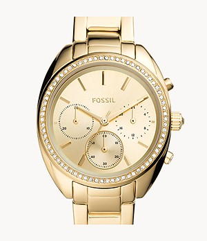 Vale Chronograph Gold-Tone Stainless Steel Watch