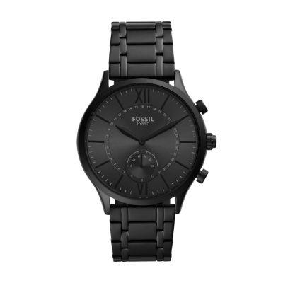 Hybrid Smartwatch Fenmore Black Stainless Steel - BQT1103 - Watch Station