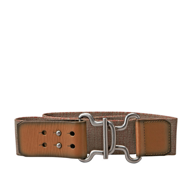 Texture Stretch Waist Belt