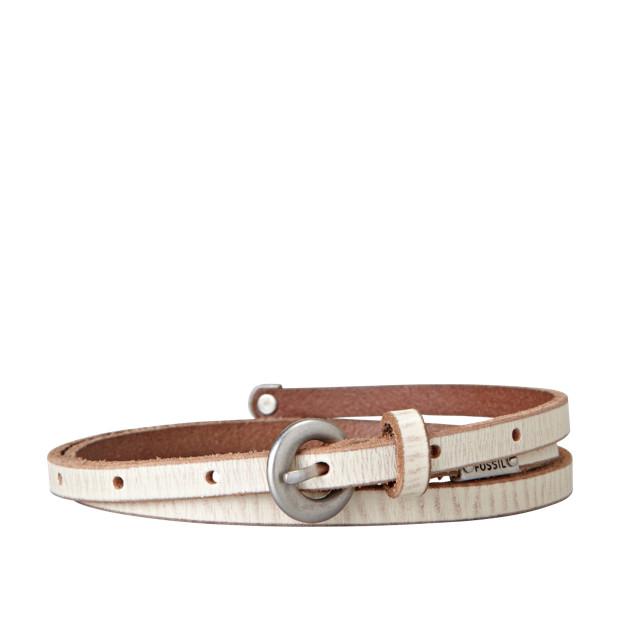 Logo Ultra Skinny Belt
