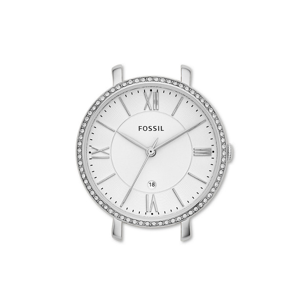 Jacqueline Stainless Steel Watch Case