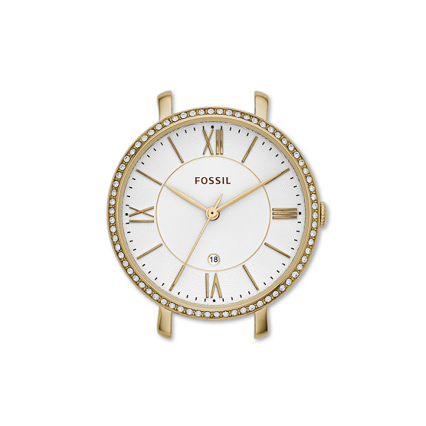 Jacqueline Gold-Tone Stainless Steel Watch Case