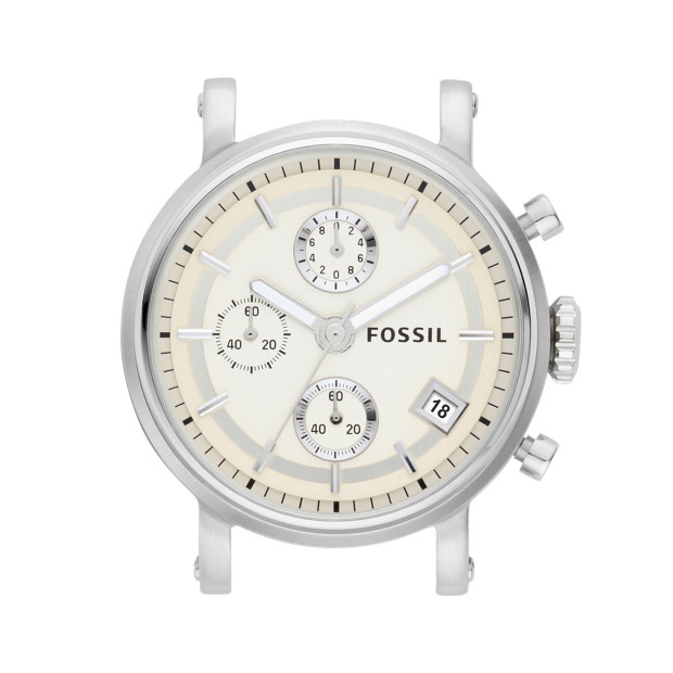 Stainless Steel 18mm Watch Case - Sand