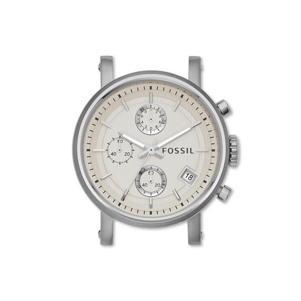 Boîtier chronographe en acier inoxydable