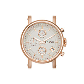 Original Boyfriend Chronograph Rose-Tone Stainless Steel Watch Case